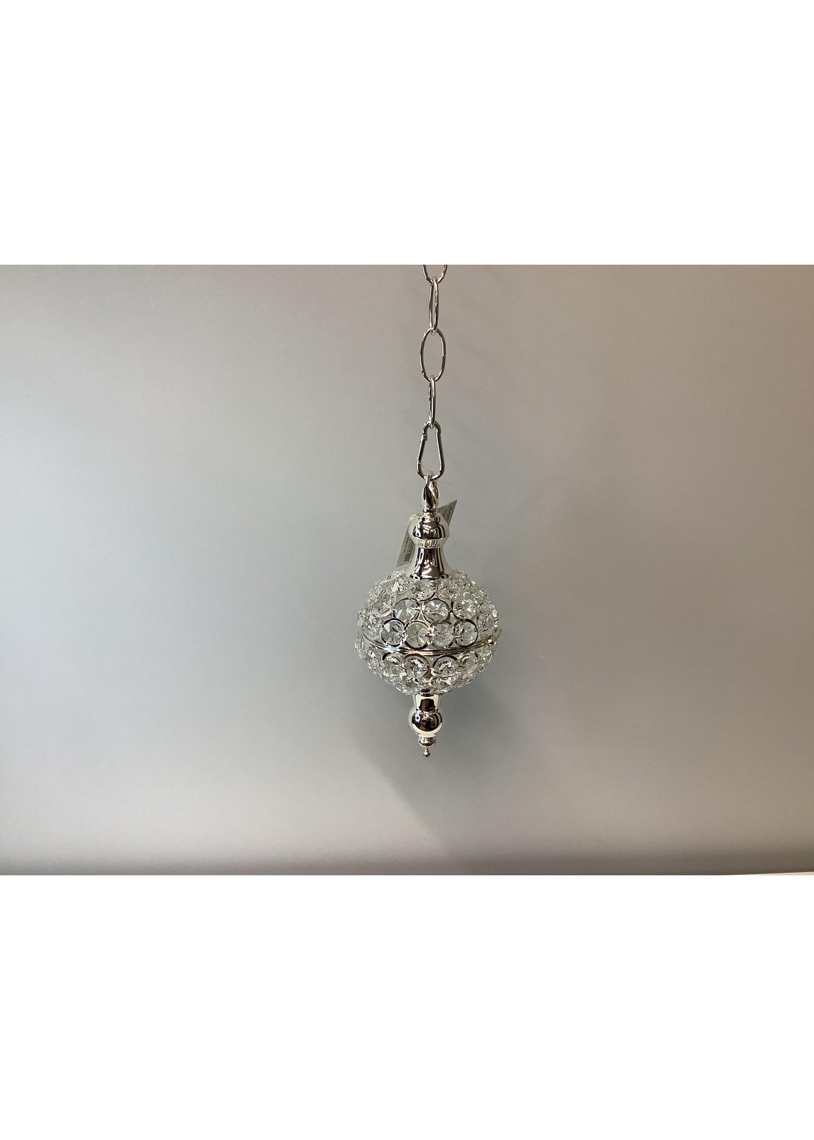 Crystal Globe Silver 11cm