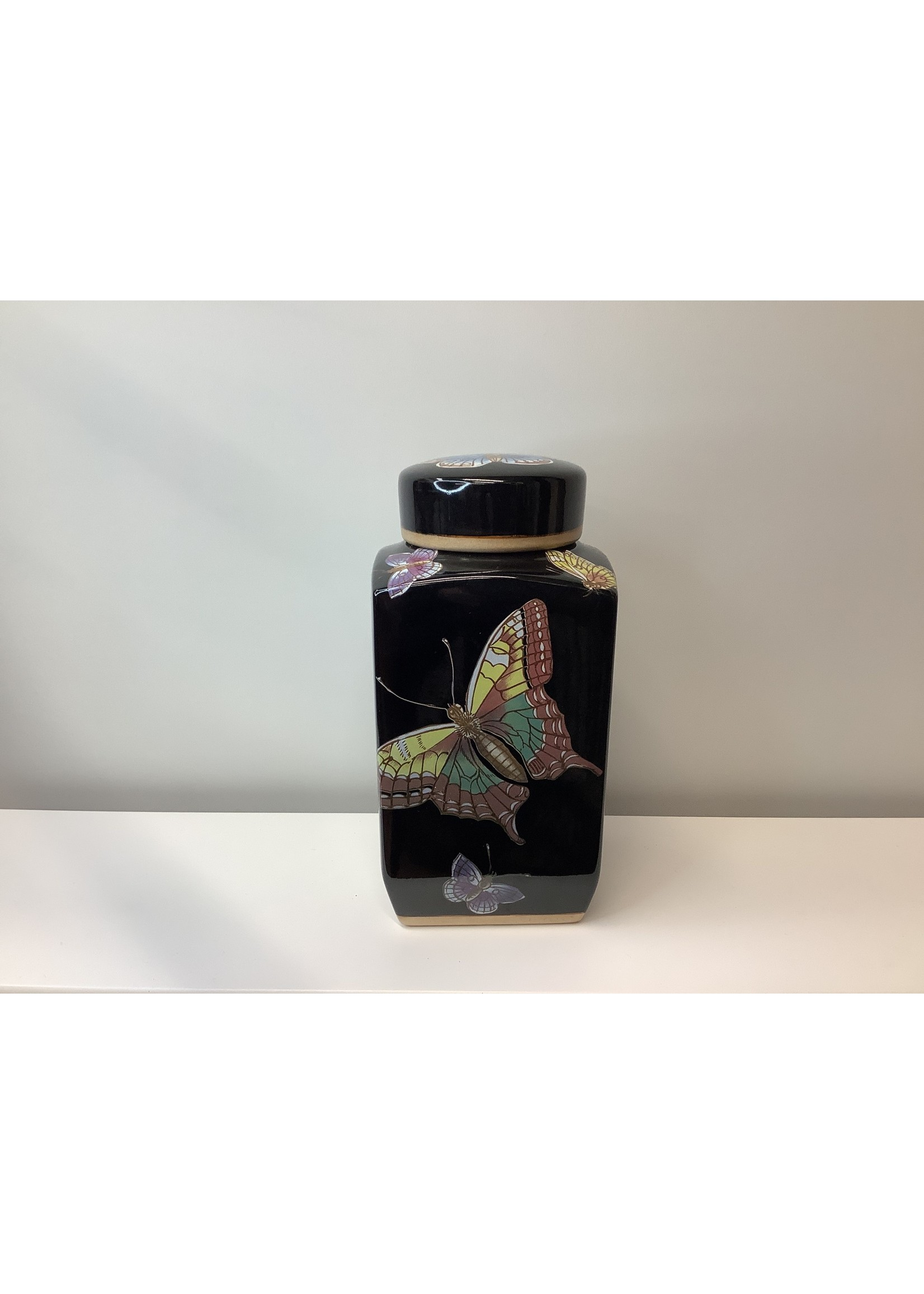 Butterfly Tea Caddy