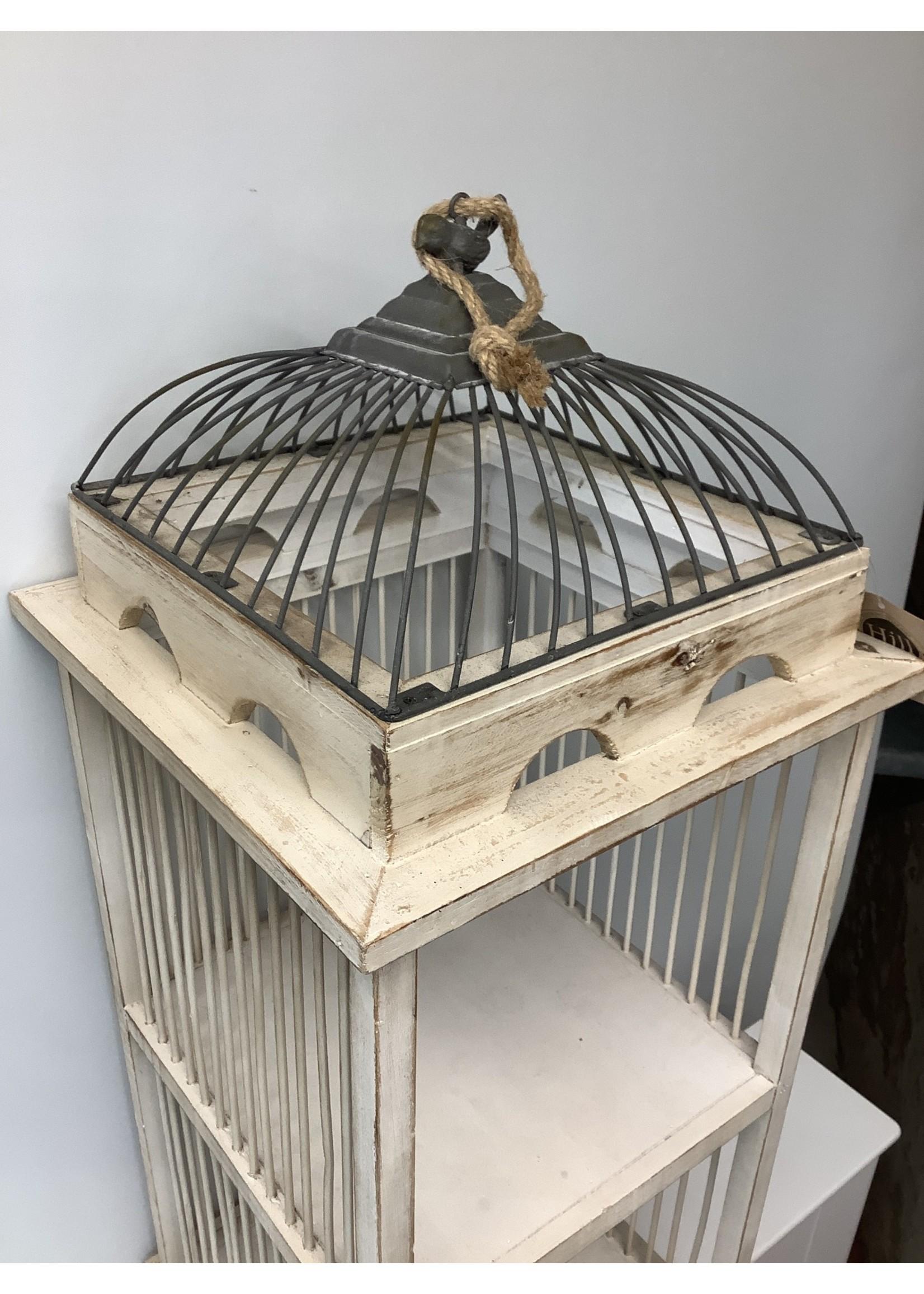 Bird Cage 95cm tall x 35cm wide