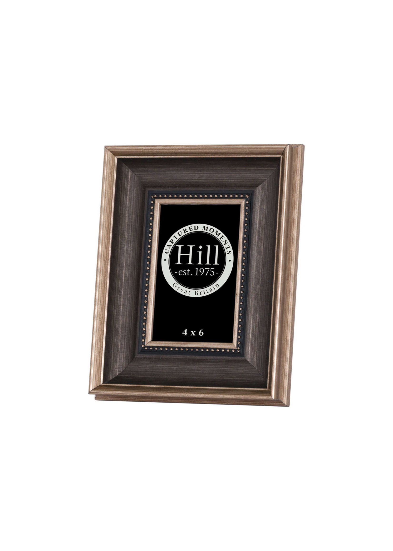 Antique Gold With Black Detail Photo Frame 4X6