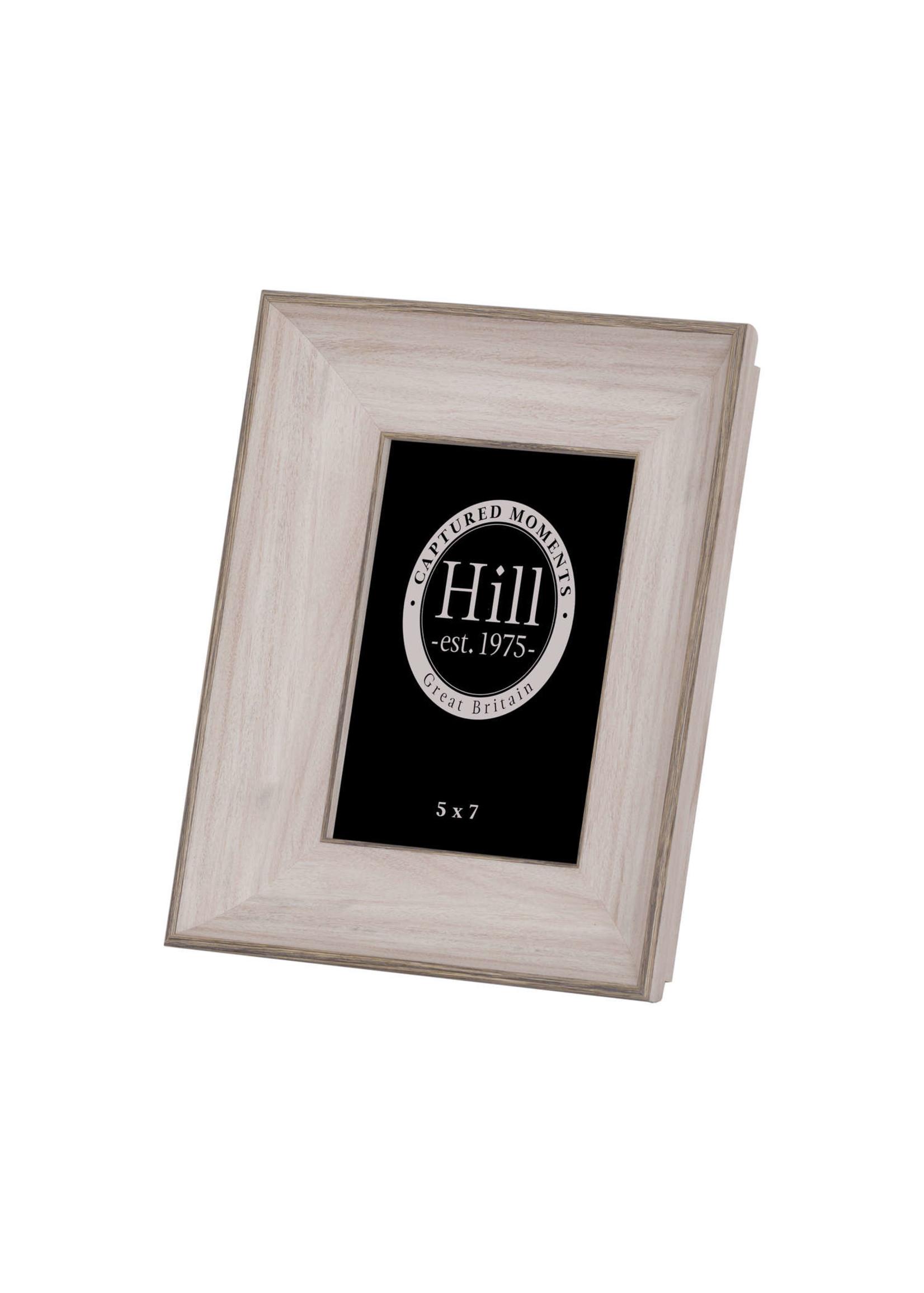 White Washed Wood Photo Frame 5X7