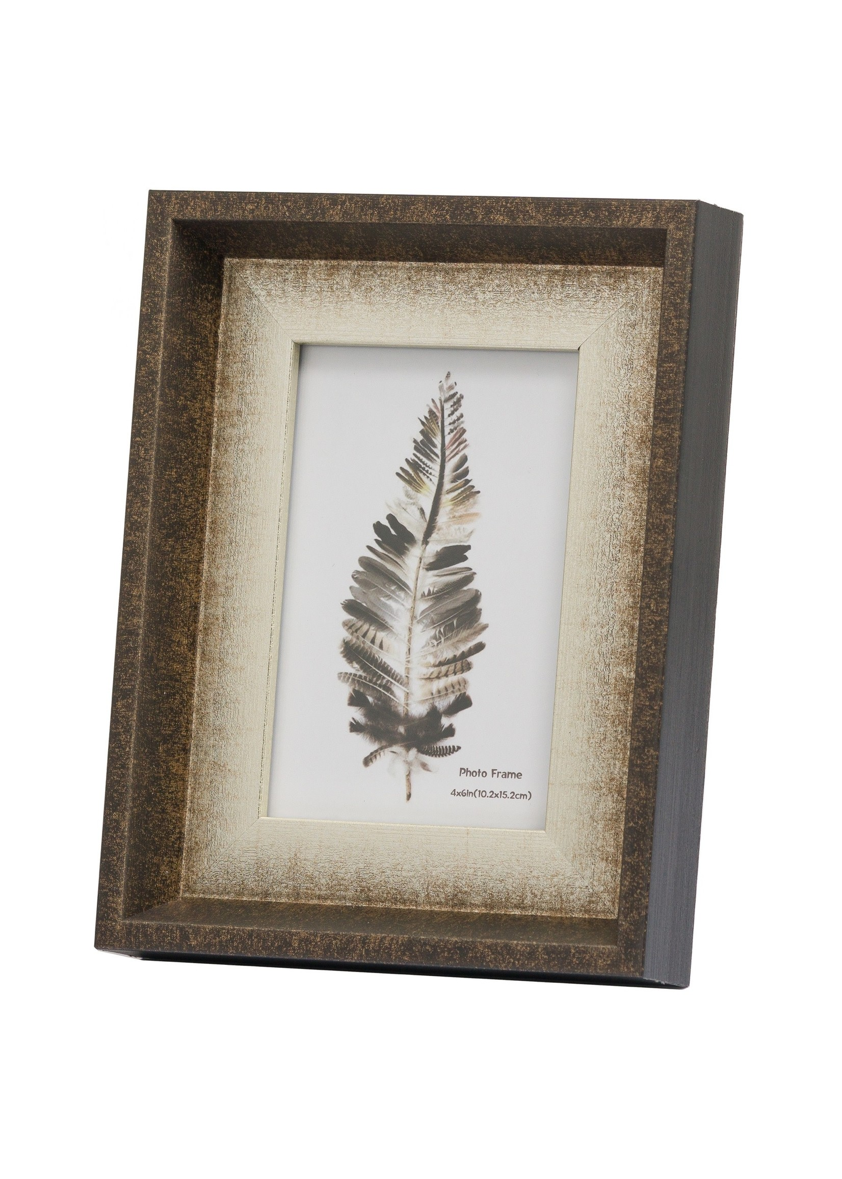 Dorchester 4X6 Frame With Silver Inlay