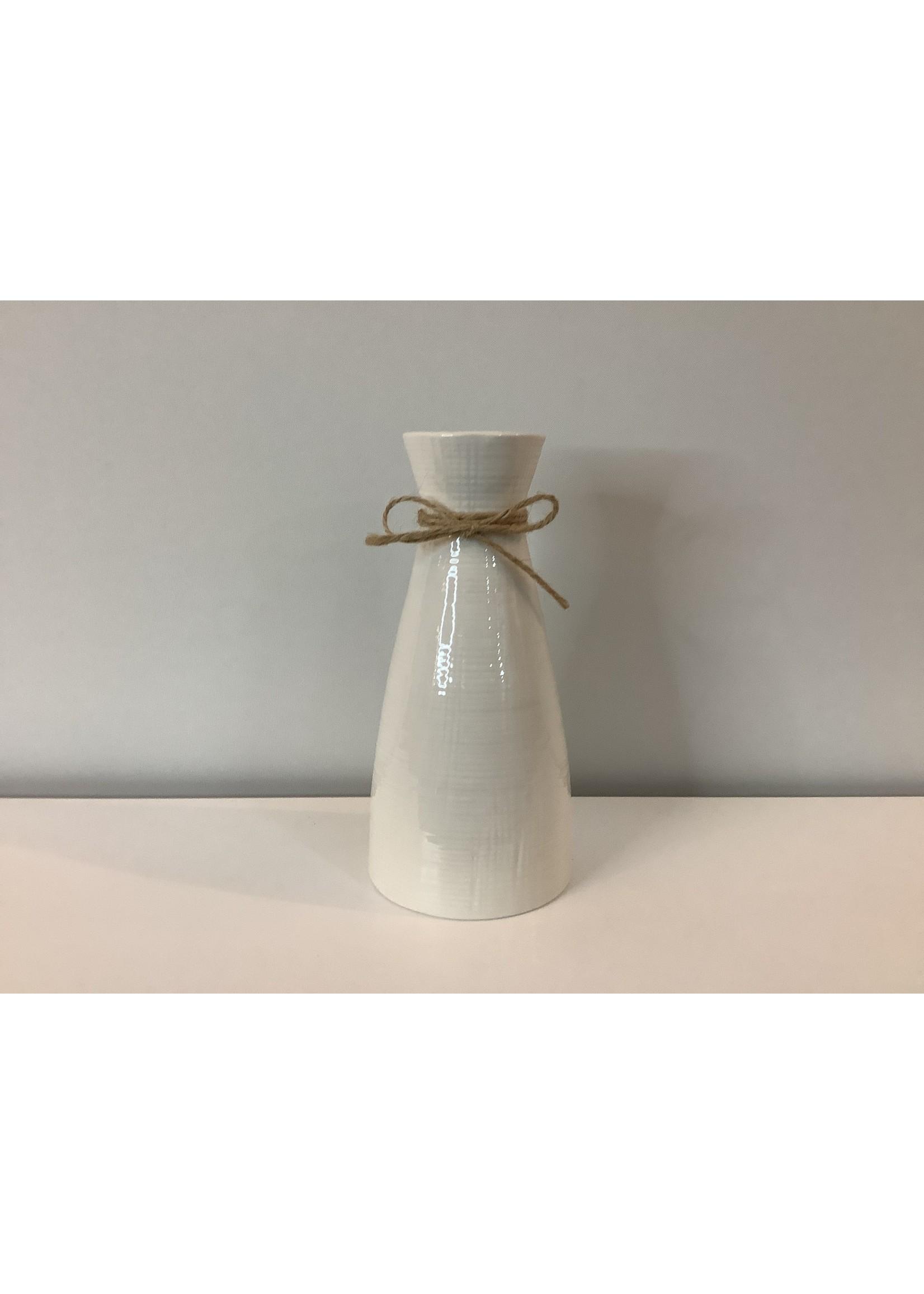 Ceramic Bottle Vase 19cm