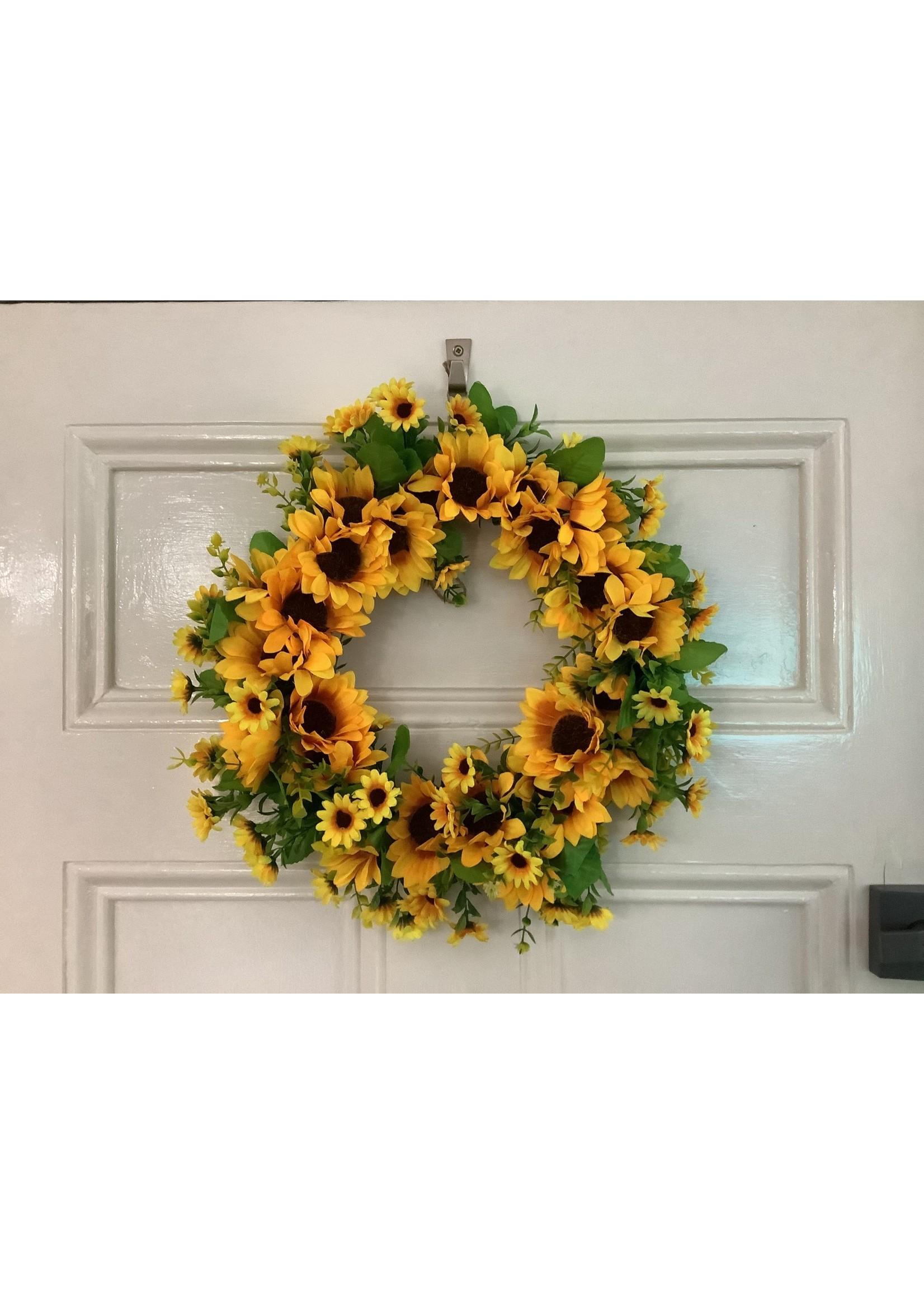 Sunflower wreath 40cm