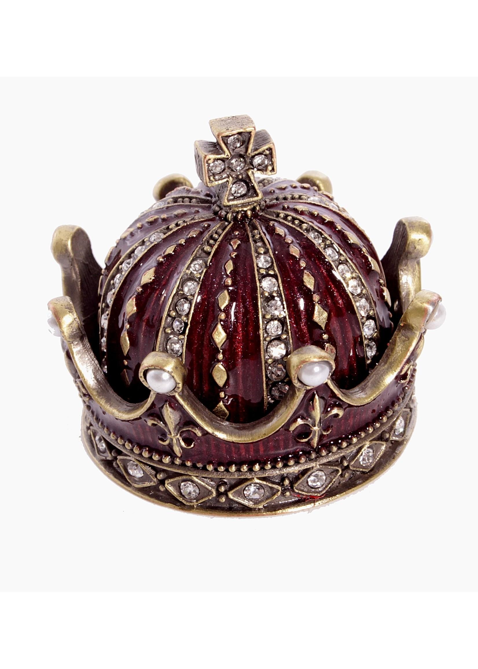 Crown Shaped Trinket Box