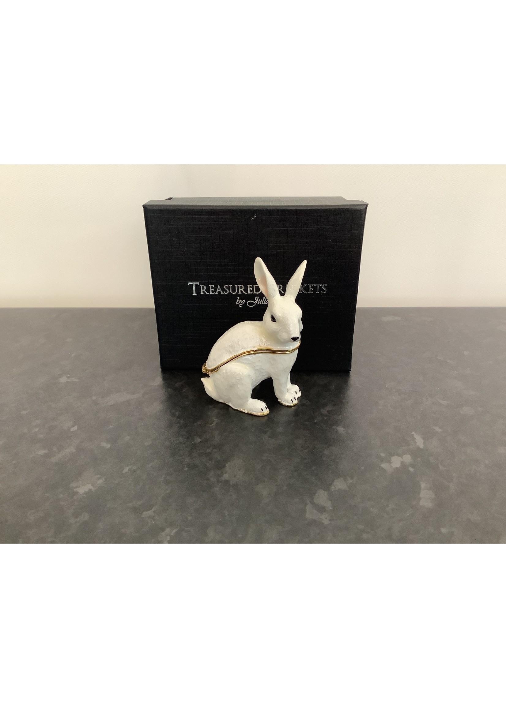 Treasured Trinkets White Rabbit