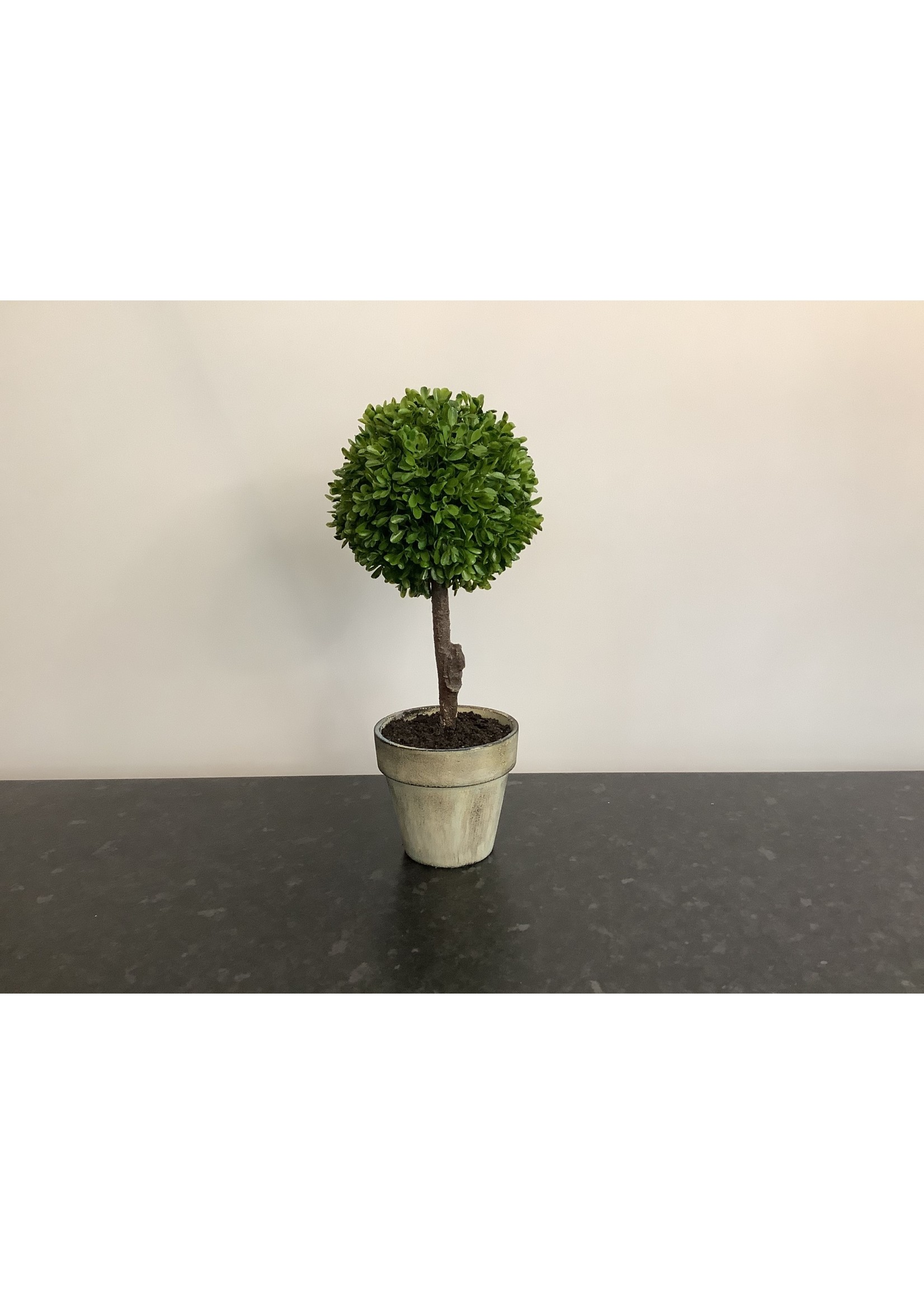 Topiary artificial tree 38cm tall