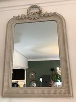 Mirror cream wreath 97cm x 67cm