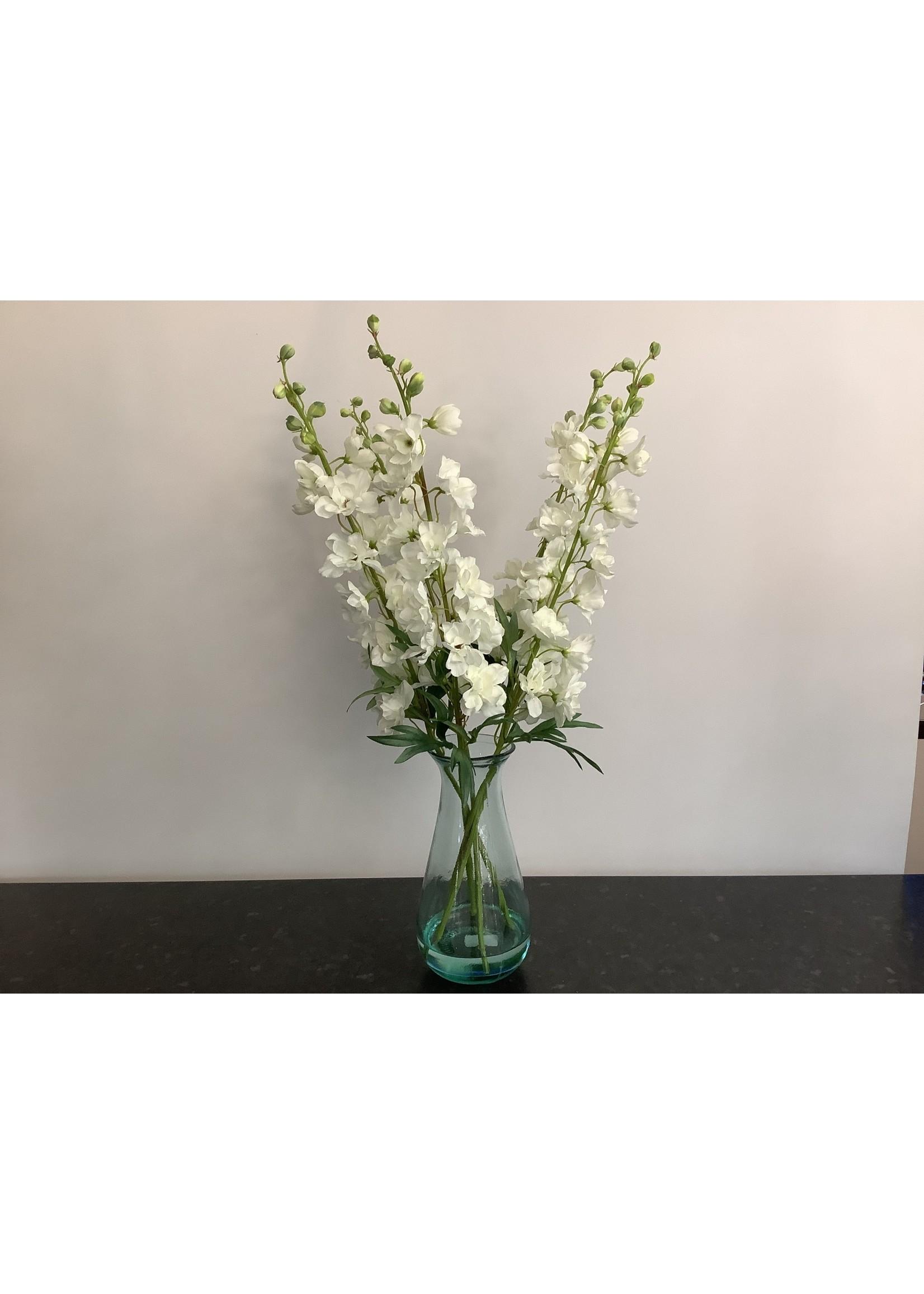Delphinium flower vase 70cm tall