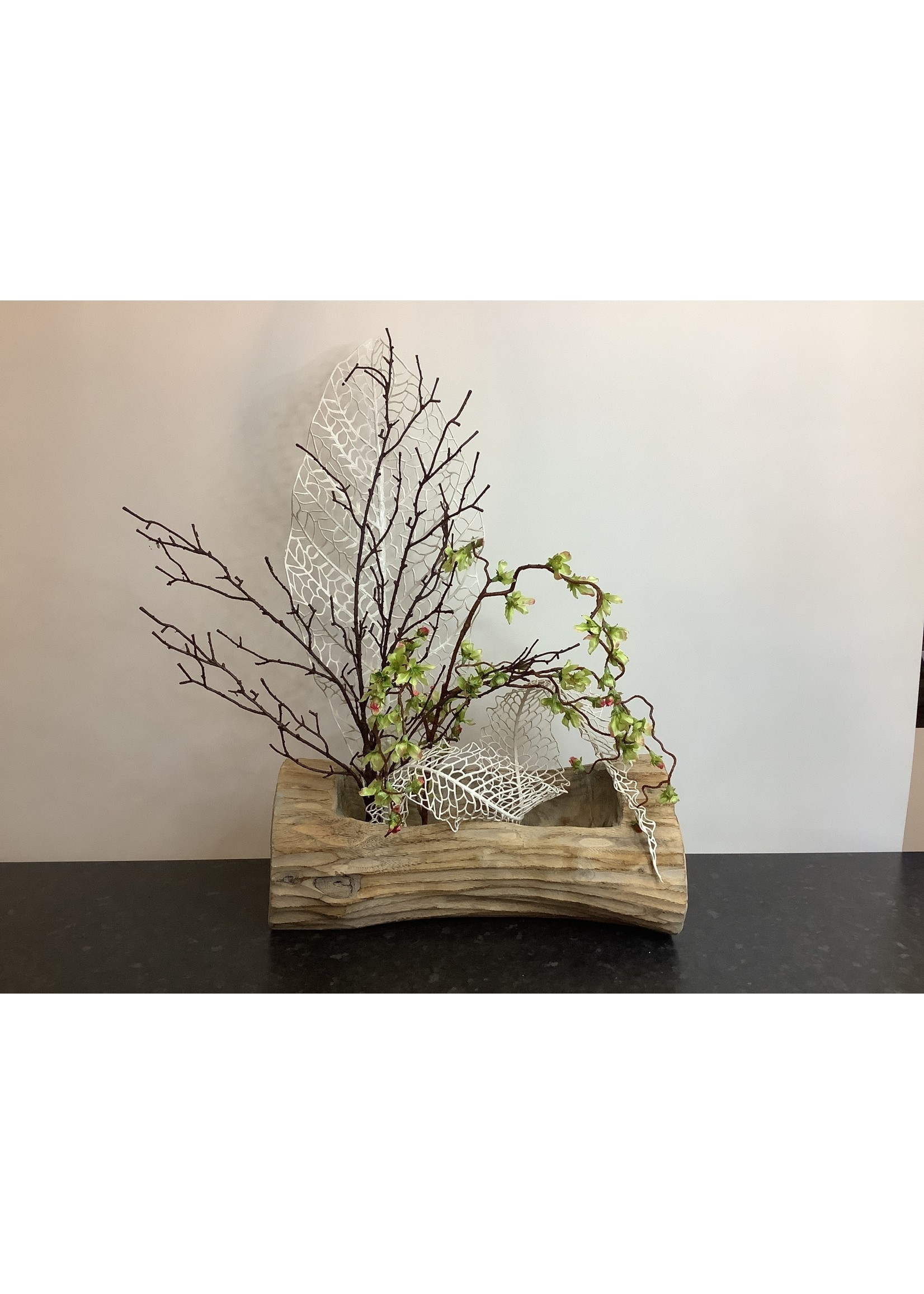Large driftwood artificial arrangement 45x70cm