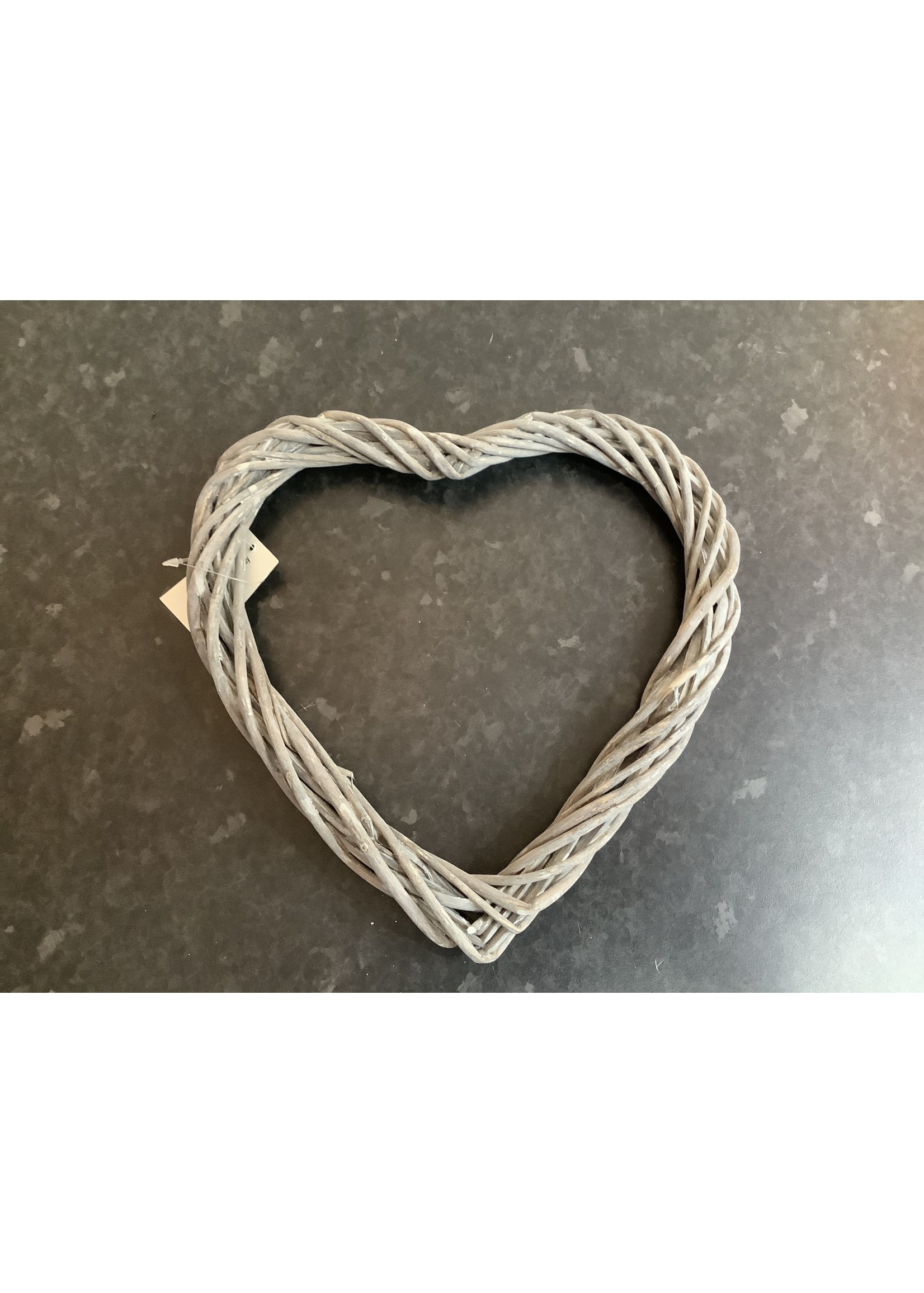 Small wooden heart 25cm