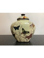 Butterfly vase 27cm tall