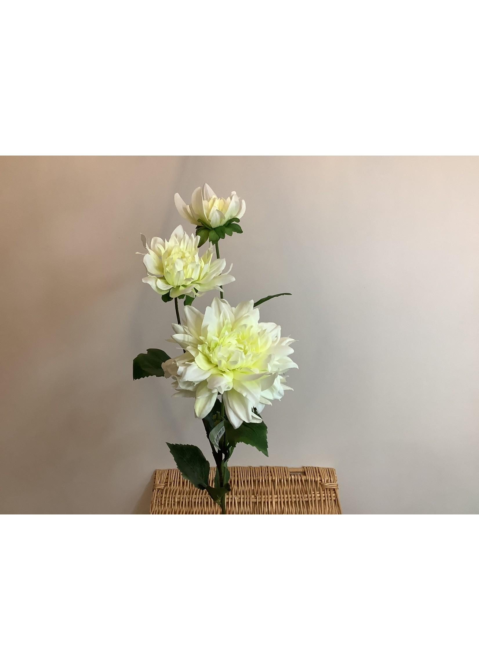 Dahlia Spray x2 + 1 Bud 77cm