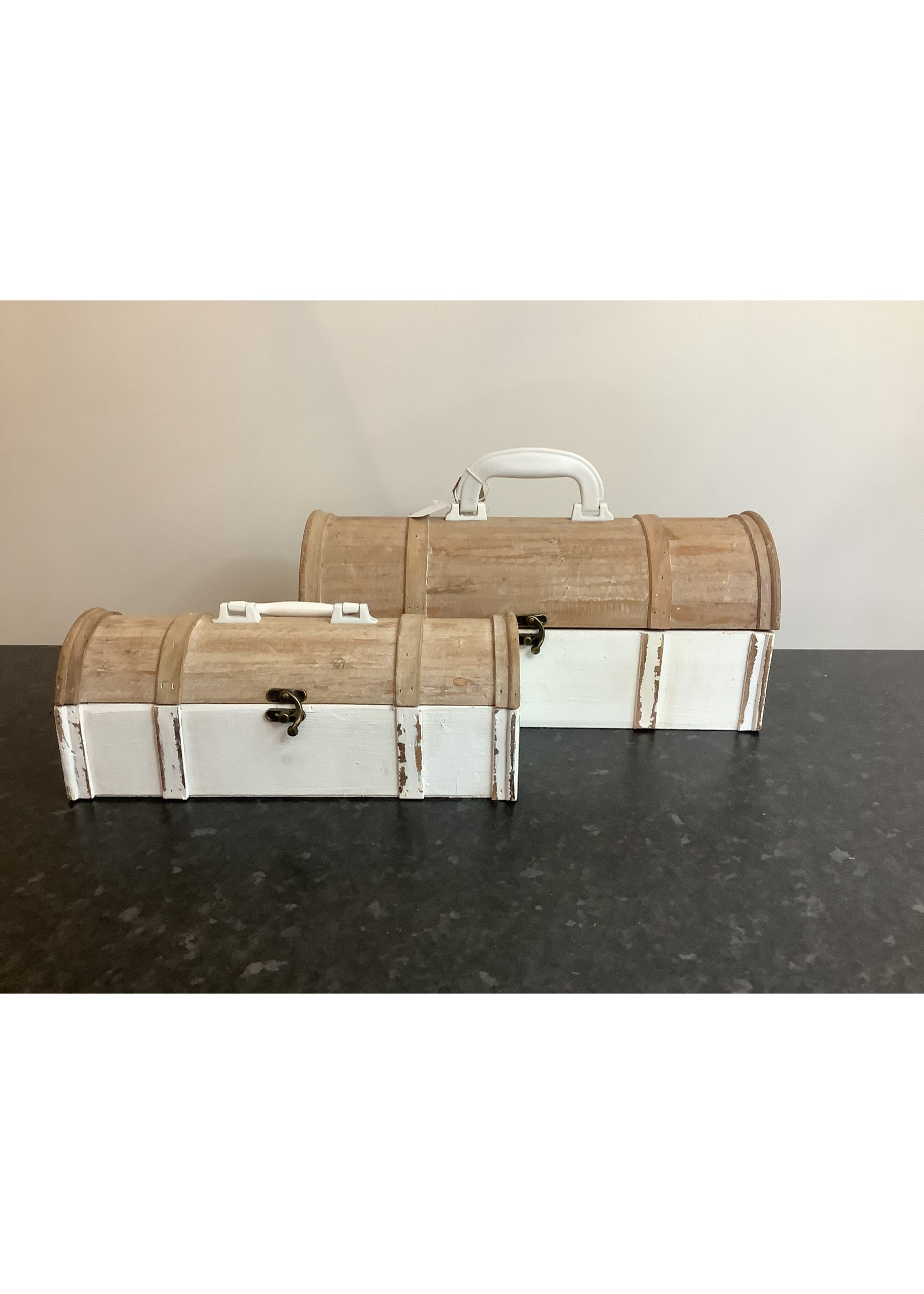 Decorative boxes set of two