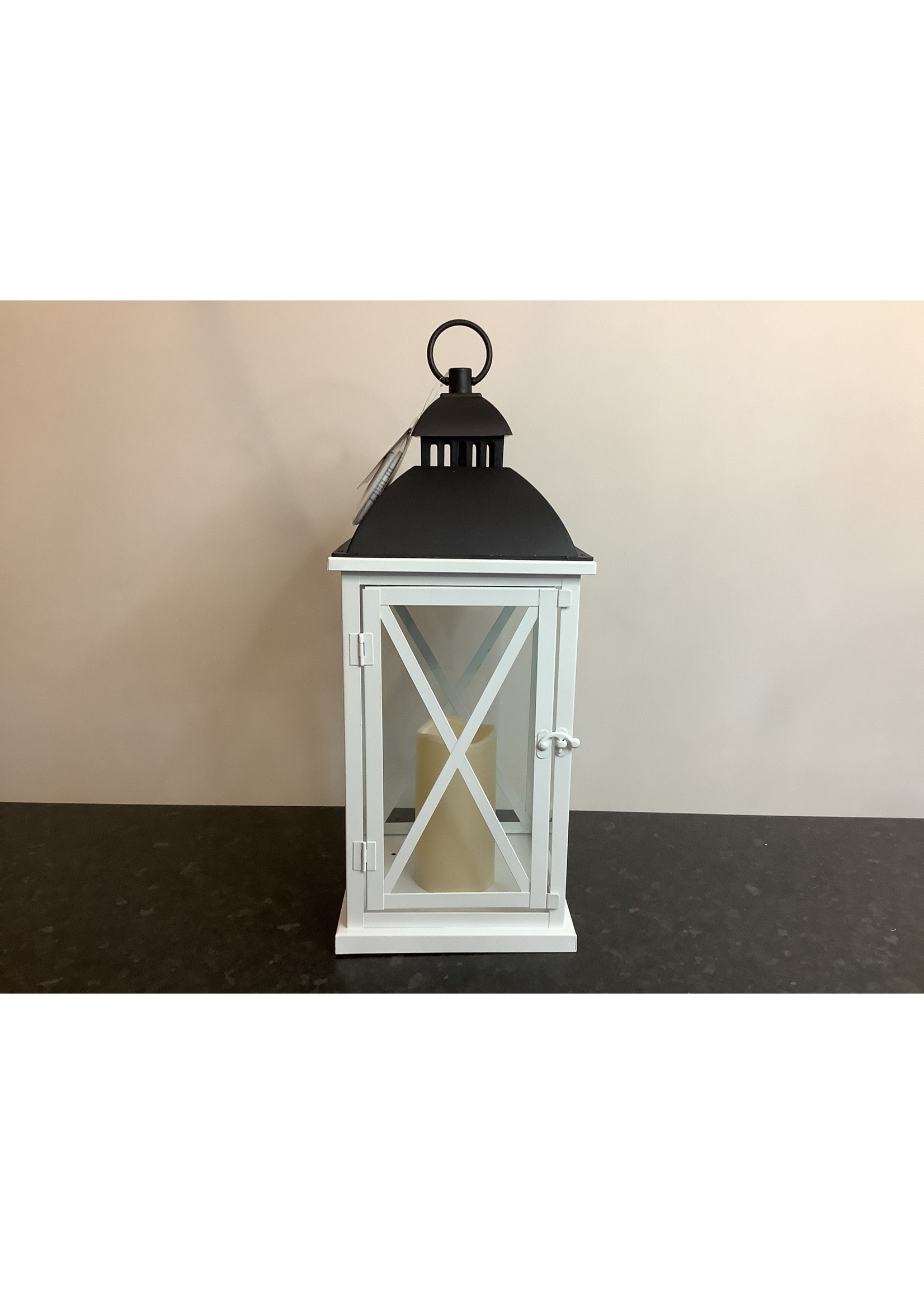 LED Lantern white 50cm tall