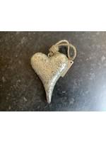large Gold Heart 14cm