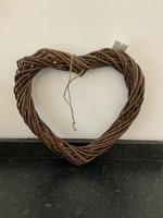 40cm Willow heart