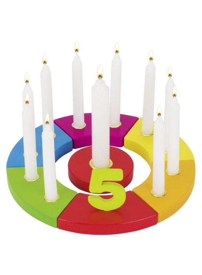 Verjaardagsring met cijfers