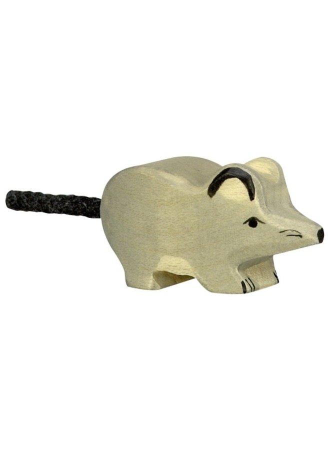 Holztiger Muis grijs