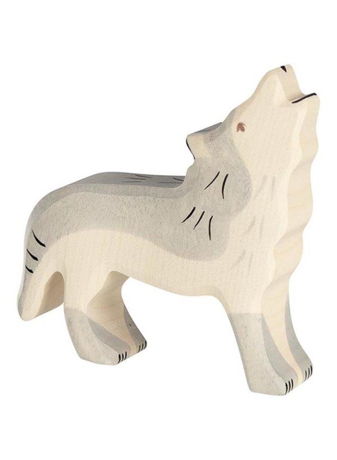 Holztiger Wolf