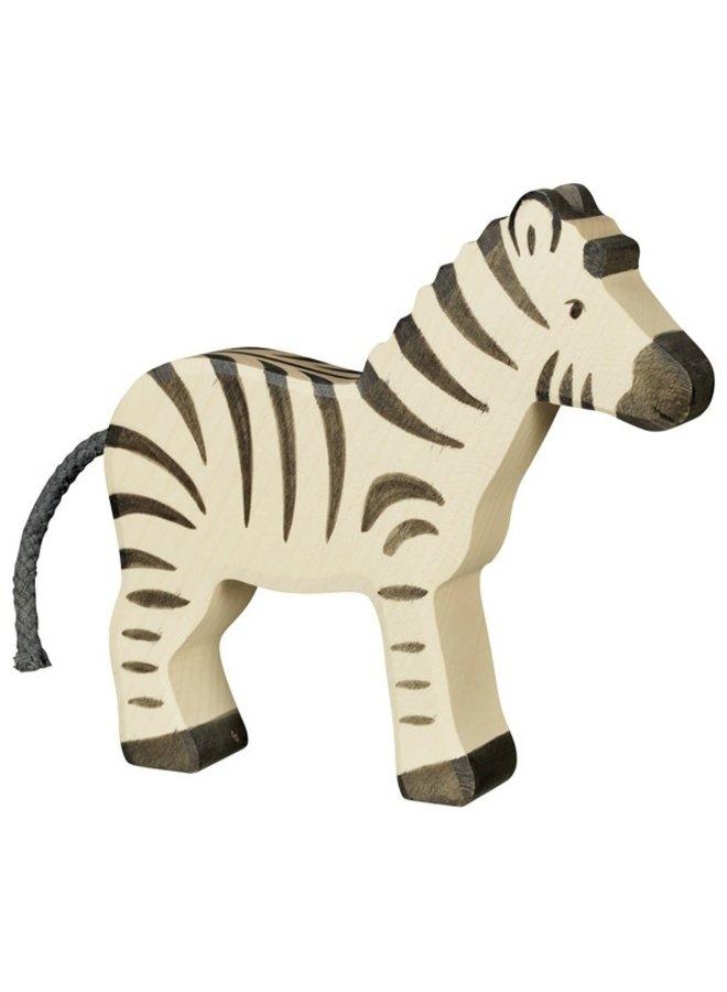 Holztiger Zebra