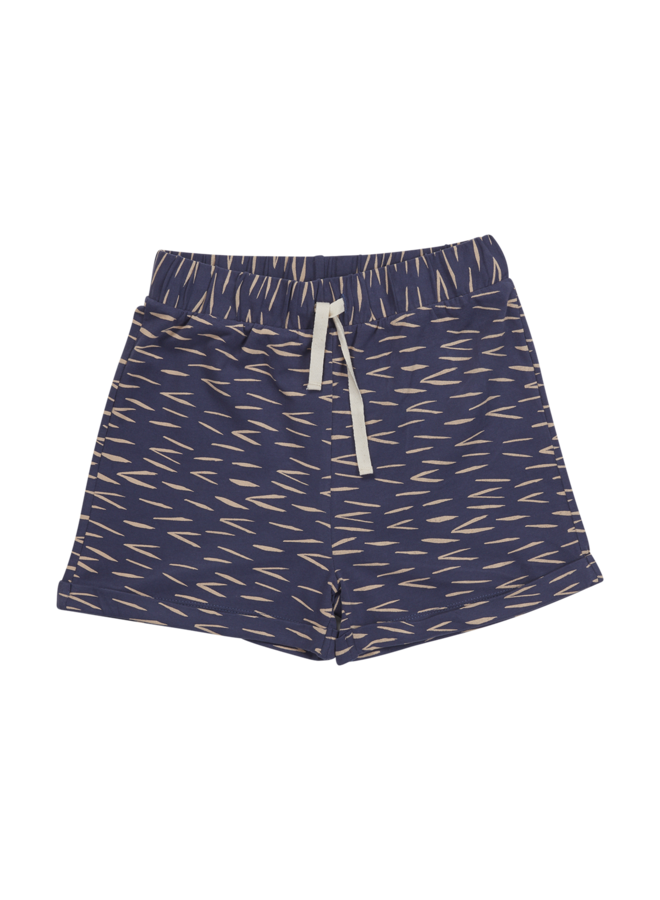 Shorts Zig Zag - Royal Blue