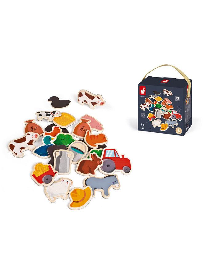 24 magneten - Boerderij