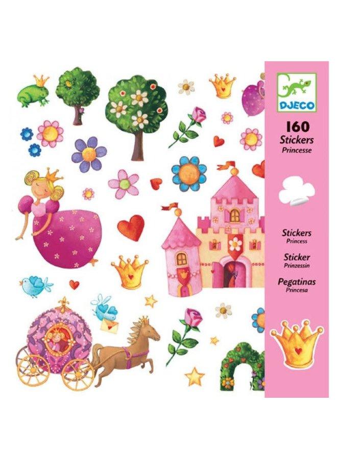 160 stickers - Pinsessen