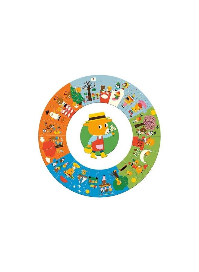 Puzzel - 4 seizoenen