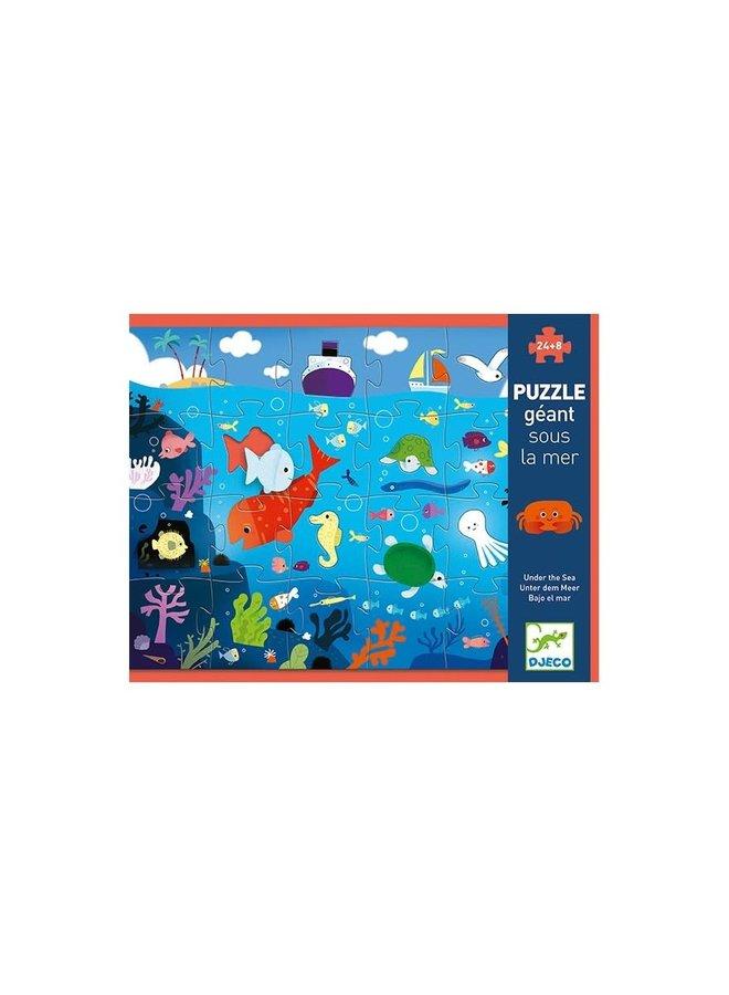Puzzel - In de zee