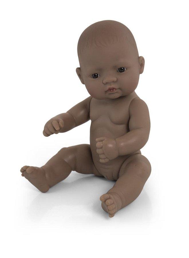Baby Doll Hispanic Girl 32cm