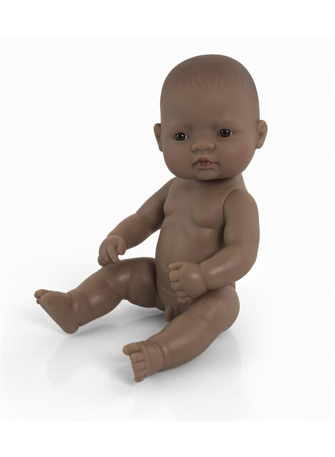 Baby Doll Hispanic Boy 32cm