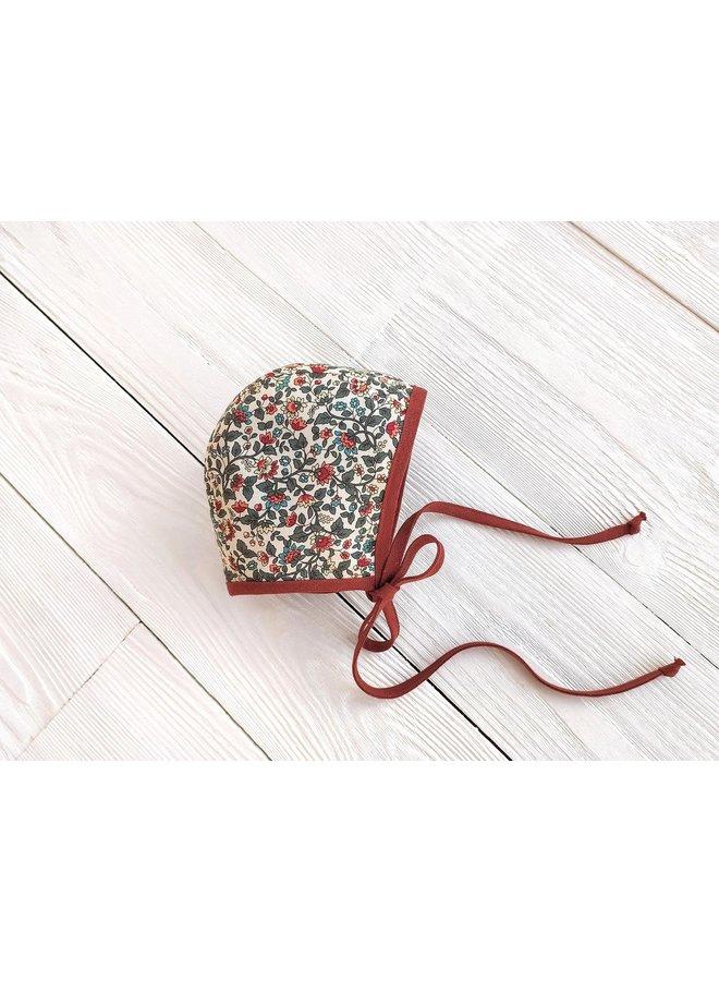 Bonnet rust - floral