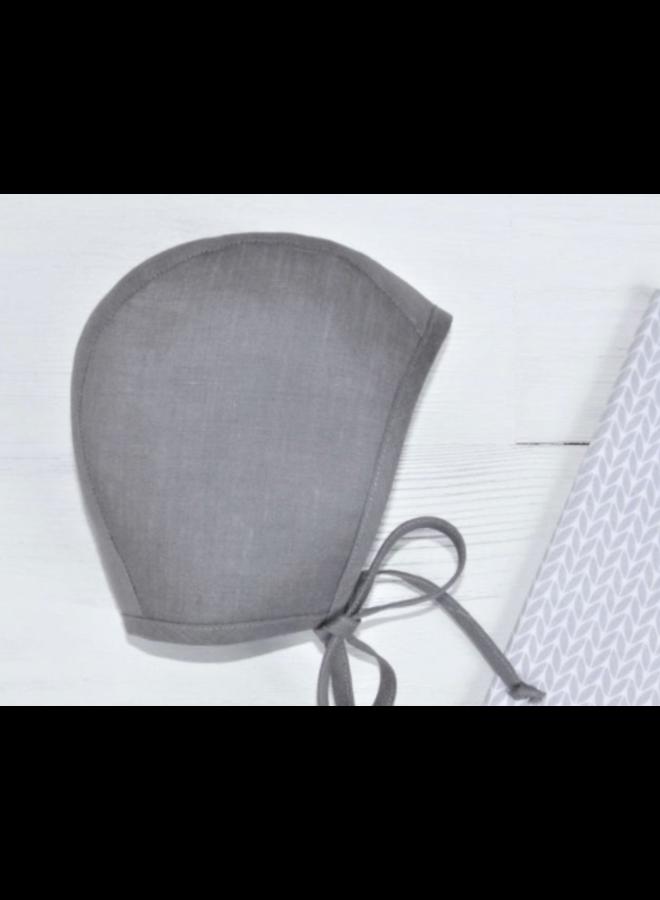 Bonnet grey - stripey