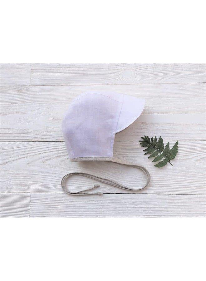 Bonnet cap off white - creme