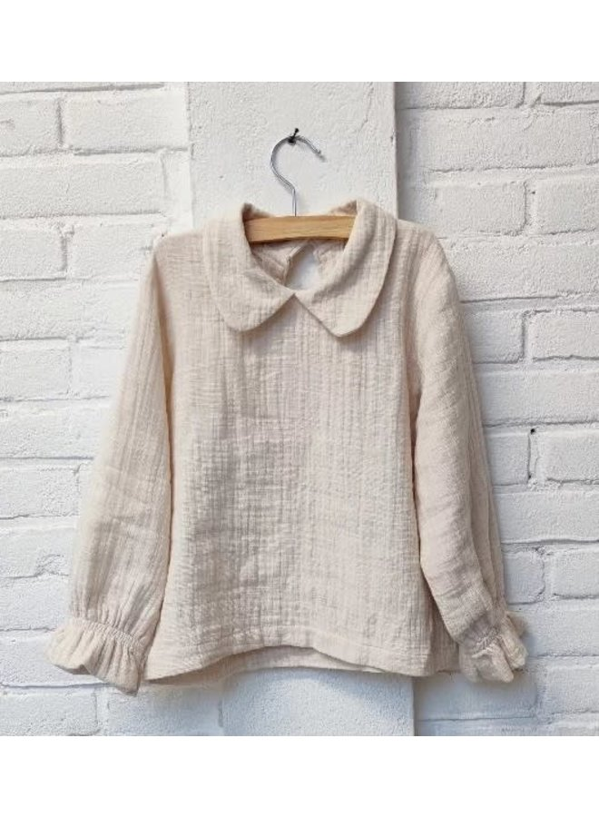 Peter pan blouse - Ecru