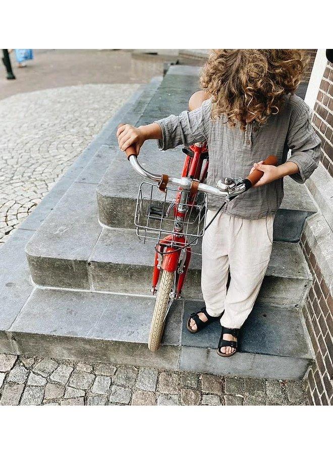Linen baggy pants - Beige