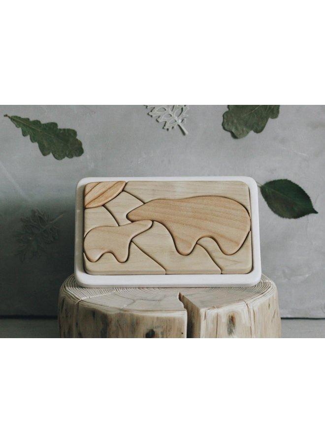 Mozaiek puzzel - Beren