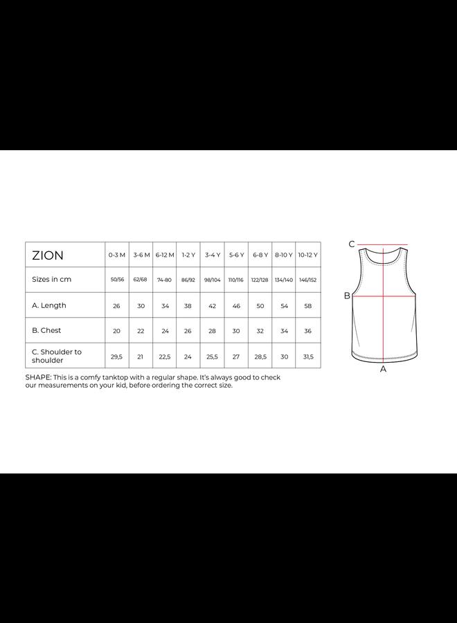 Shirt palmtree Zion