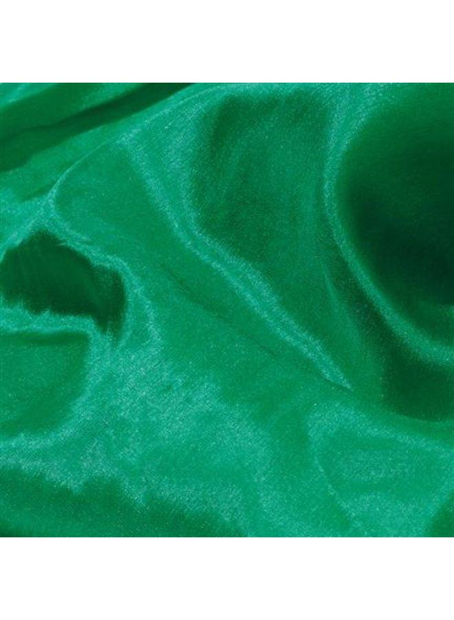 Zijden speeldoek 53x53cm - smaragdgroen