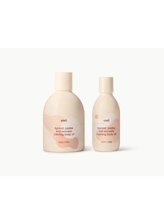Body Oil Set mother & baby