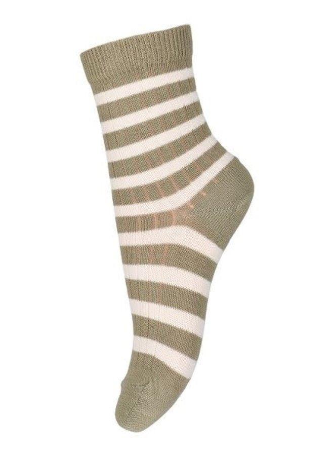 Eli socks - Safari Green