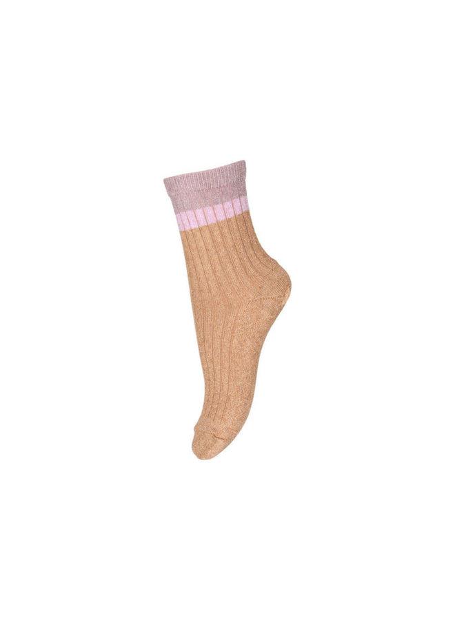 Norma glitter socks - Apple Cinnamon