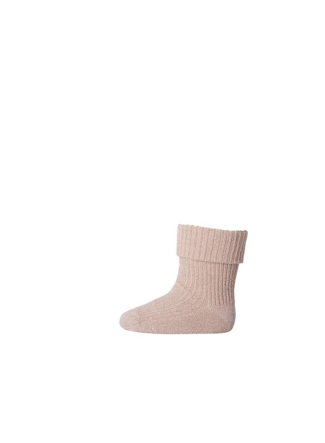 Ida glitter socks - Rose Dust