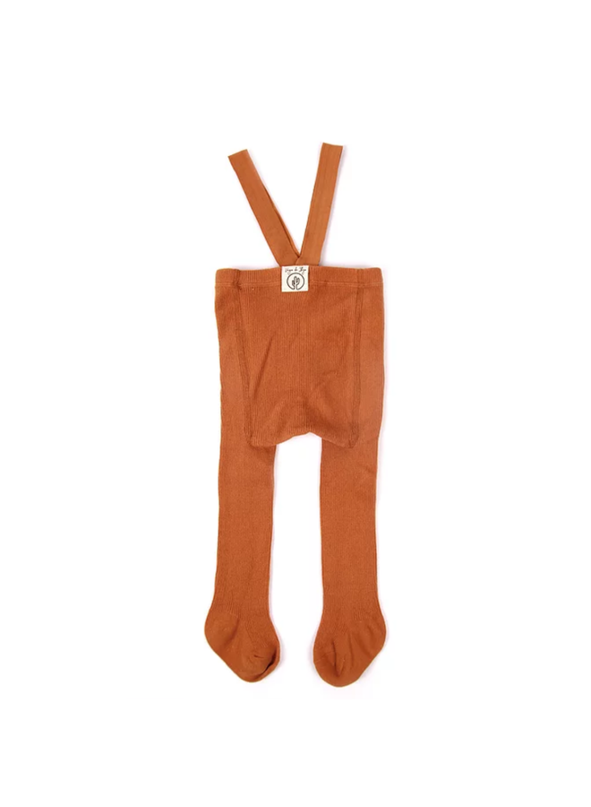 Gabriel tights with braces - Ginger