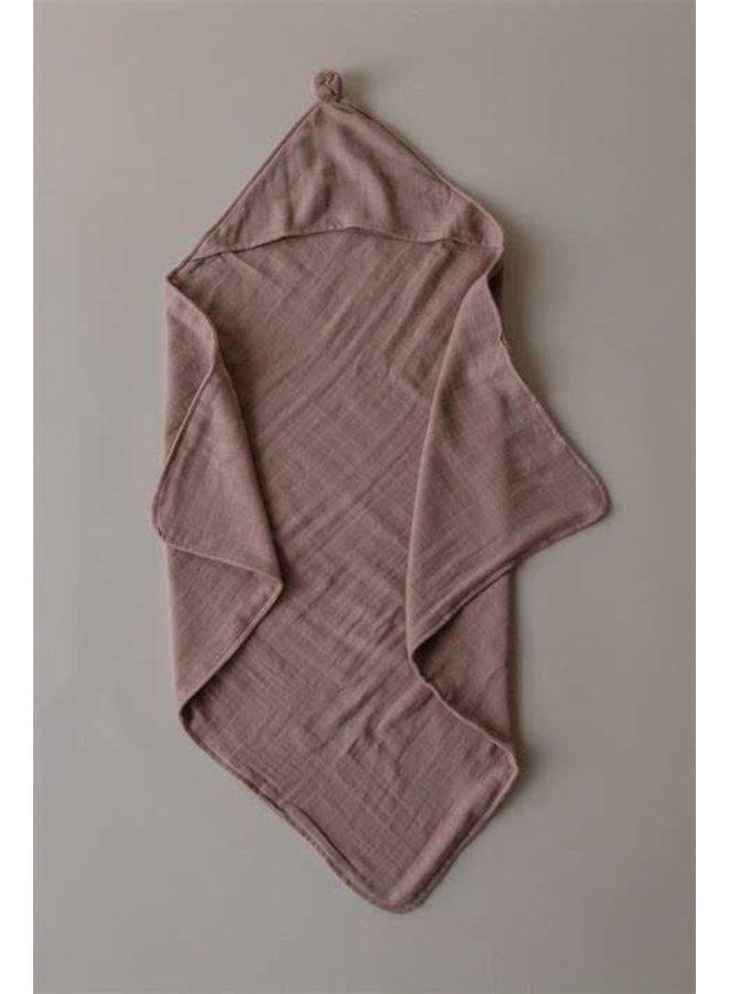 Organic hooded towel - Dawn
