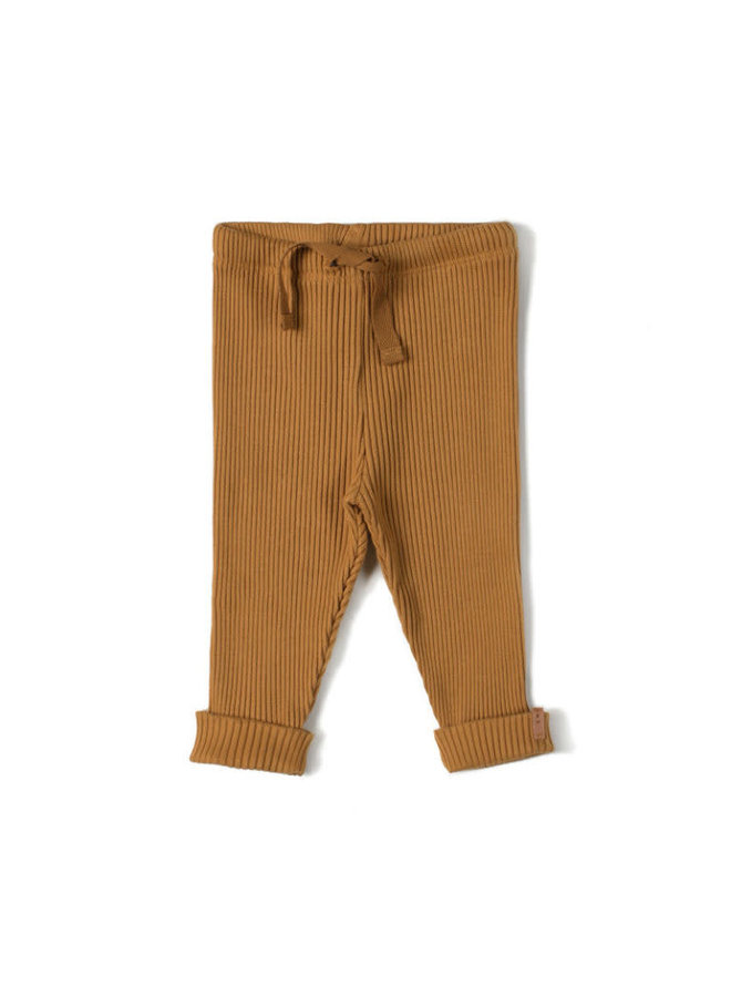 Rib Legging Caramel