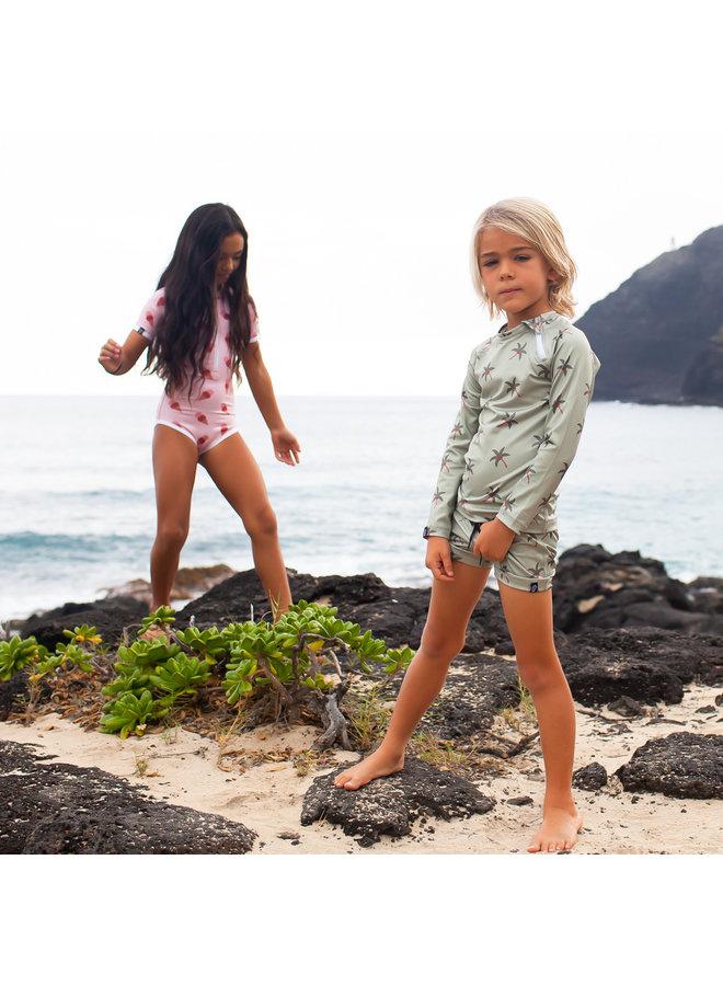 Aloha palm swimshort