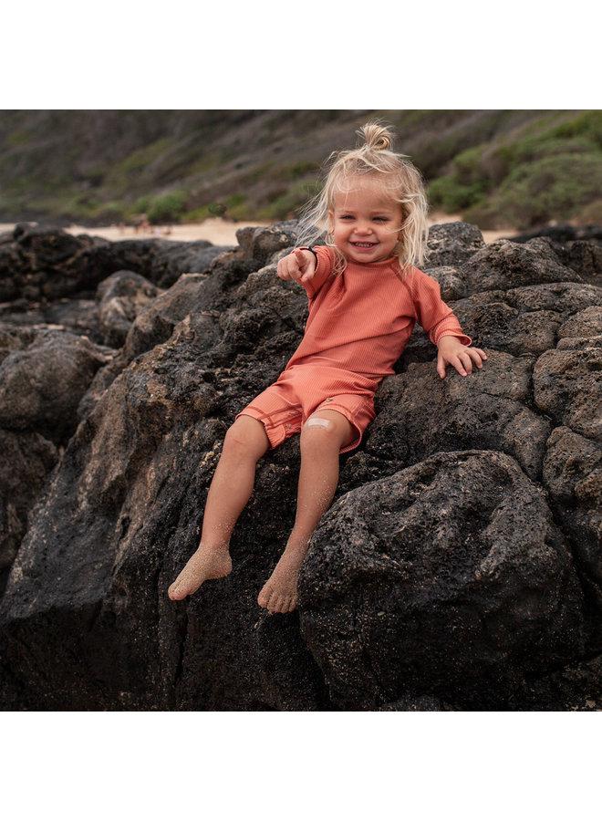 Baby swimsuit clay