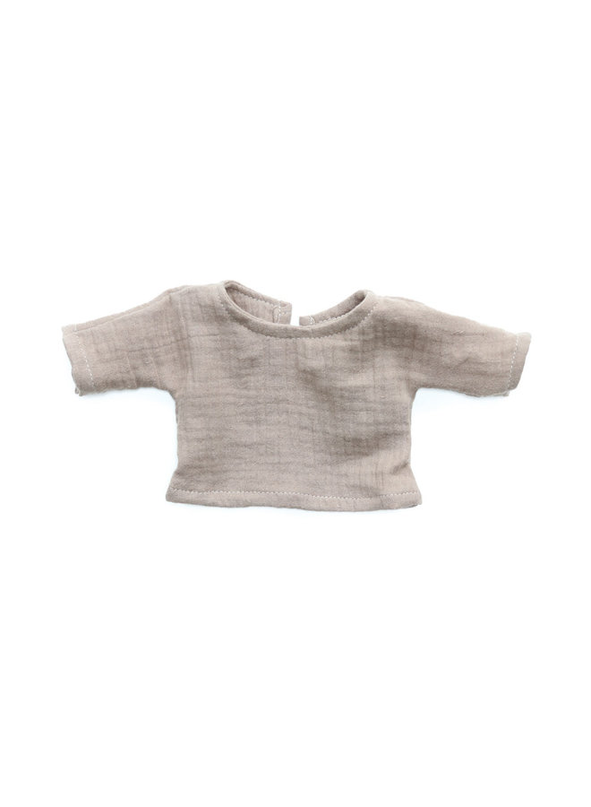 Poppenshirtje - Taupe